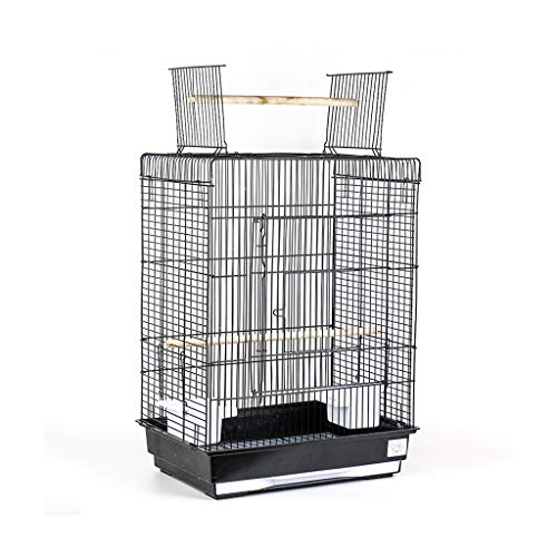 NYKK Small Bird Cage/Cottages Bird House Metal Open Top Large Bird Cage for Budgies Lovebirds Finches Cockatiels Canary Parrots Cage Parakeets Travel Bird Cage bird cage/Nest Box Birdhouse Birds