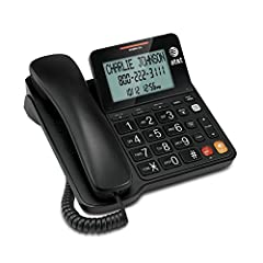 Caller ID/Call Waiting Speakerphone, Audio Assist Extra-Large Tilt Display, LCD Display, Hearing aid compatible Extra-Large Buttons, Extra-Loud Ringer. Table- and wall-mountable DSL Subscribers may need to use a DSL Filter. Line power speakerphone Th...