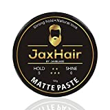 JaxHair Matte hair paste strong hold | Matte Finish Texture No Shine Natural Look | Hair Clay | Matte Clay | Putty | Hair Mud For all hair types 100g 3.5oz