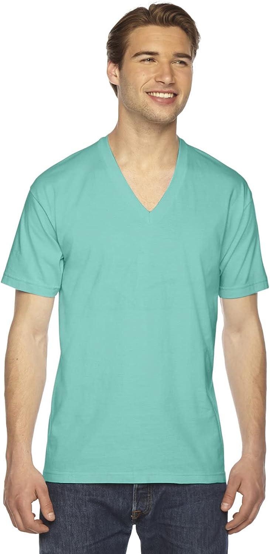 American Apparel Womens Fine Jersey V-Neck T-Shirt (2456W)