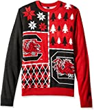 Klew NCAA Busy Block Sweater, X-Large, Alabama Crimson Tide