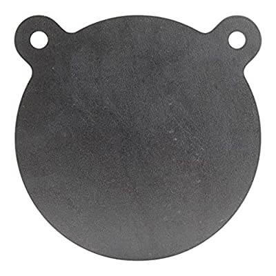 ShootingTargets7 - AR500 Steel Gong Target - 8 x 3/8 inch for Rifles to 308 - Laser Cut USA Steel