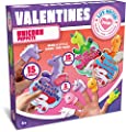 JOYIN 15 Pack Kids Valentines Day Cards with Unicorn Finger Puppet Set for Kids Valentines Classroom Exchange Prizes Valentine's Party Favor Toys by Joyin Inc
