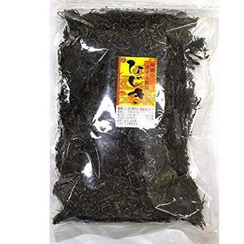 沖縄塩蔵ひじき 1kg×4P 座間味こんぶ 保存に便利な塩蔵タイプ