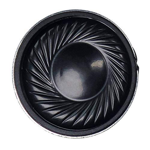 Durable Módulo de Altavoz Interno con Sensor de Rango infrarrojo 8Ohm 2W 30mm Compatible con Juguetes electrónicos, Radio, intercomunicador, etc.