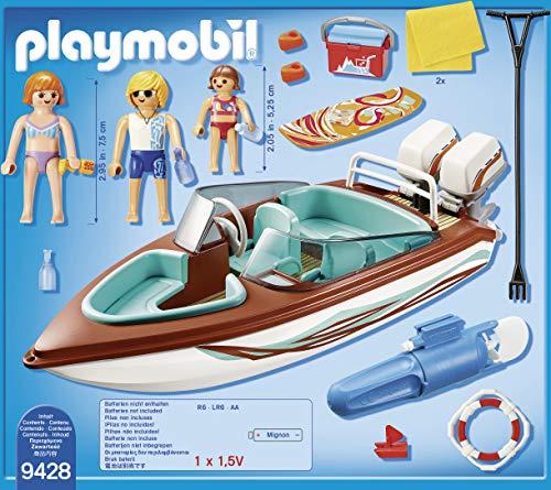 Lancha deportiva de esquí acuático con motor submarino - Family Fun (9428)