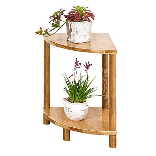 QFF Balcon étagère à fleurs / bois massif à plusieurs étages salon plancher chaise à fleurs / étagère à fleurs simple ( taille : 30*40cm )