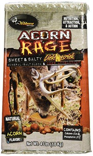 Wildgame Innovations Acorn Rage Salt Block Deer Attractant