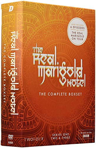 The Real Marigold Hotel - Complete Series One, Two & Three (6-disc set) [DVD] [Reino Unido]
