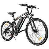 VIVI Electric Bike E-Bike, 27.5'' Electric Mountain Bike, 22MPH 500W Electric Bicycle, Adults Ebike with Removable 48V 10Ah Battery, Shimano 21 Speed Electric Bikes for Adults