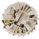 32pcs Cartoline di Viaggio Vintage Paesaggio Building Photo Picture Poster Post Cards