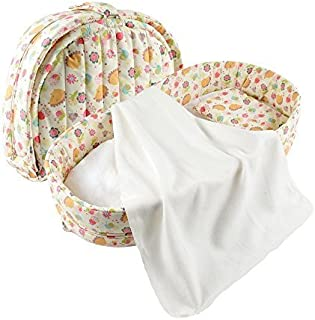 Labebe Baby 2 in 1 FOLD & GO Foldable Travel Bed/Bassinet Convertible to Diaper Changing MAT for Infants up to 1 Year, Was...