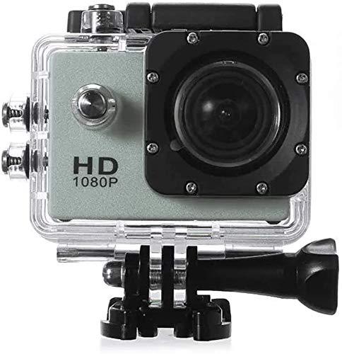 Action-Kamera tragbare 1,5-Zoll-HD Auto-DVR + 16 GB Micro SD-TF-Speicherkarte Live HD Streaming (Farbe: Gold, Größe: Eine Größe) zhihao (Color : Green, Size : One Size)
