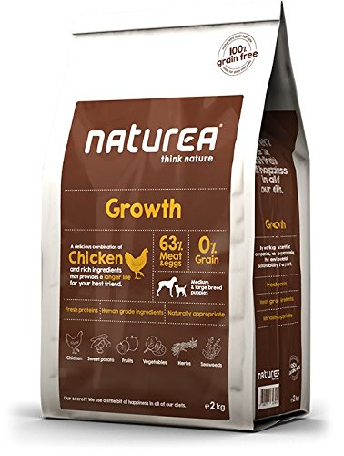 NATUREA alimento a Secco per Cani Growth Puppy – 2000 gr