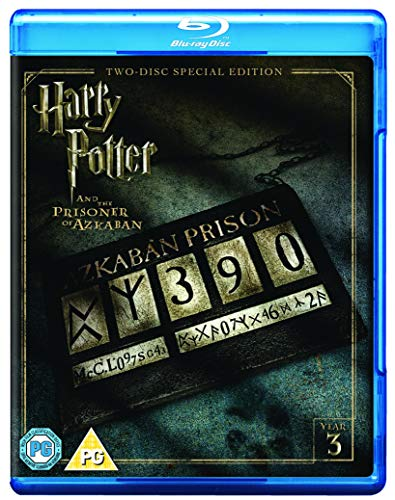 Harry Potter and the Prisoner of Azkaban [Year 3] [2016 Edition 2 Disk] [Blu-ray] [2004] [Region Free]