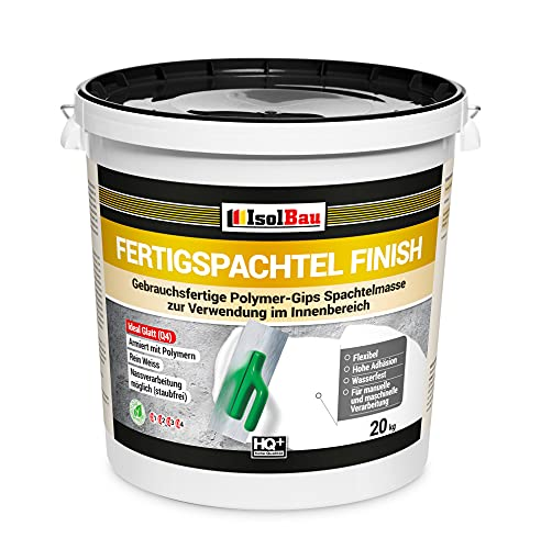 Spachtel masse Q4 Fertigspachtel Finish 20 kg Glätt Flächen Füll Fugenspachtel…