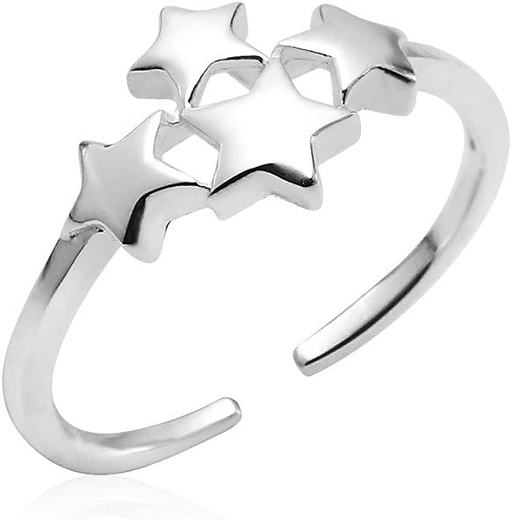 Big Apple Hoops - 925 Sterling for Adjustable Ring Brand supreme Cheap Sale Venue Silver Fi Toe