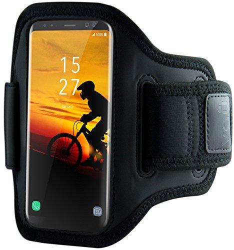 vau ActionWrap Sport-Armband Hülle kompatibel zu Samsung Galaxy S8 Plus & Galaxy S9 Plus