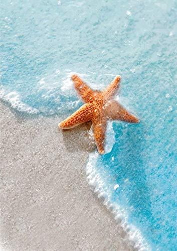 12'x16' Diamond Painting Kits for Adults, Beach Starfish Full Drill 5D Diamond Art Kits for Beginners Home Wall Decor