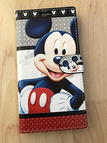 Mickey Mouse Flip Stand Leather Wallet Case For Samsung Galaxy Note 10+ Plus