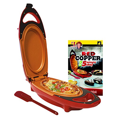 Red Copper 5-Minute Chef - Non-Stick Omelette Pan