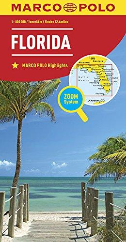 MARCO POLO Länderkarte Florida 1:800 000: Wegenkaart 1:800 000 (MARCO POLO Länderkarten)