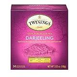 Twinings of London Darjeeling Tea Bags, 50 Count (Pack of 3)