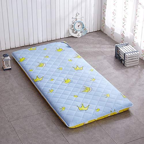 ZLJ Colchón de Tatami japonés para el Suelo colchón de Tatami Grueso para Dormir colchón de futón Plegable para niños y niñas colchón para Dormitorio Cama para niños Capas A 100x200cm (39x7