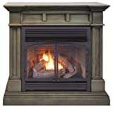 Duluth Forge DFS-400R-2GR Dual Fuel Ventless Gas...