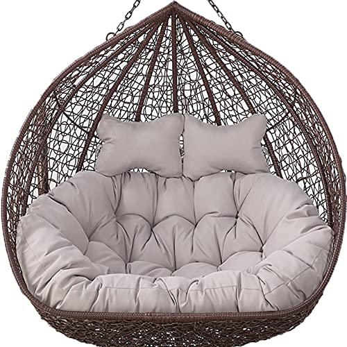 2 Seater Egg Chair Swing Cushion Outdoor, Hanging...