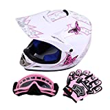 Samger DOT Jugend Kinder Offroad Helm Motocross Helm Dirt Bike ATV Motorrad Helm Handschuhe Brille...
