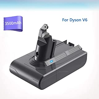ダイソン バッテリー dc62 v6 バッテリー 互換 超大容量 3500mAh DC59 DC74 DC72 DC62 DC61 DC58 SV07 SV09 対応 壁掛け【1年長期保証/PSE登録済み】