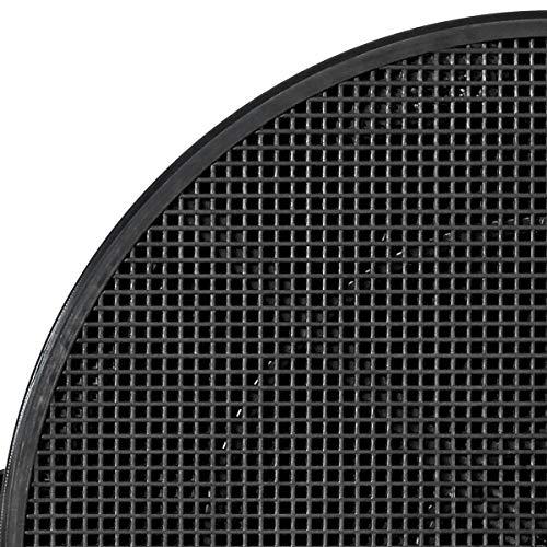 TronicXL Premium Fett + Aktivkohlefilter R& 21cm Dunstabzugshauben für Whirlpool Siemens Miele Bosch AEG Neff Bajonet (2 Stück)