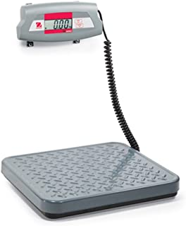 Ohaus 83998235 Steel SD Economical Shipping Bench Scale, 75kg x 0.05kg