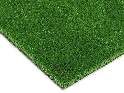 Balkon-Rasen Kunstrasen im Festmaß - SPRING, 4,00m x 1,50m, 7mm Höhe, Outdoor Bodenbelag, Rasen-Teppich
