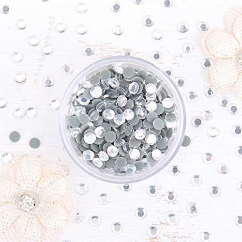 Threadart SS10 (3mm) Crystal Hot Fix Rhinestones 10 Gross (1440/pkg) Hotfix - Iron on - Hot Fix