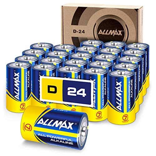 Our #6 Pick is the ALLMAX All-Powerful Alkaline Batteries