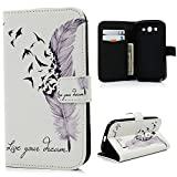 YOKIRIN Coque Grand Plus / Grand Neo / Grand Lite Etui Cuir Housse Bookstyle Fente...