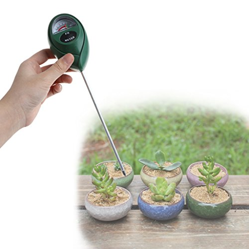 top-sell PH Meter, adaptéaux Test pH Säure & Alkalinität des Gartenhandschuhe, Zucht, keine Batterie nötig des Bodens