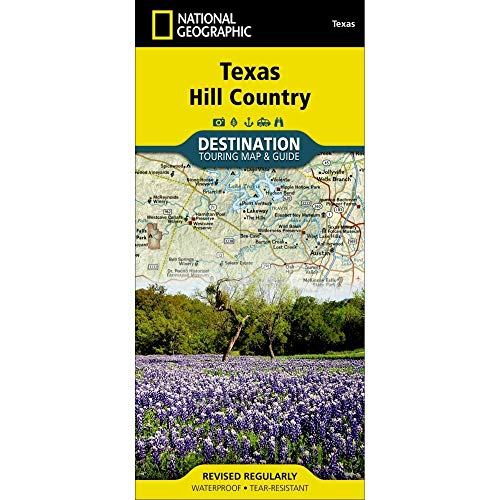 Price comparison product image Texas Hill Country (National Geographic Destination Map)