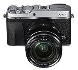 Fujifilm X-E3 Mirrorless Digital Camera w/XF18-55mm Lens Kit - Silver (Renewed)