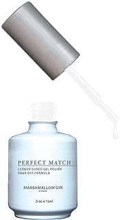 LECHAT Perfect Match Nail Polish, Marshmallow Gin, 0.500 Ounce