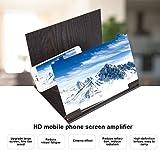 ASHATA Amplificatore Schermo Universale per Smartphone, Lente...