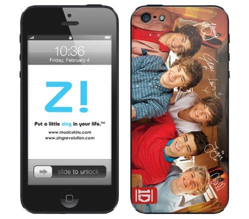 Zing Revolution One Direction Premium Vinyl Lijm Huid, 1D Jongens Afbeelding, iPhone 5, 1D Boys