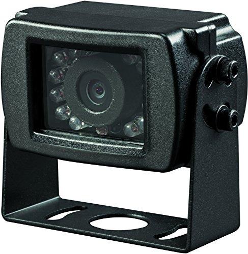 Voyager VCMS17B Super CMOS Color Rear Mount Observation Camera with LED Low-Light Assist, Built-In Microphone, Black backup Cameras Vehicle