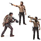 Walking Dead The Deluxe 10 Inch Figure Set - Daryl Dixon & Rick Grimes