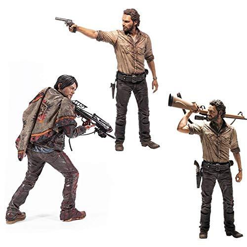 Walking Dead The Deluxe 10 Inch Figure Set - Daryl Dixon & Rick Grimes