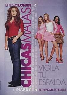 Mean Girls Movie Poster (27 x 40 Inches - 69cm x 102cm) (2004) Spanish -