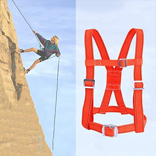 Kits Arnés Seguridad, Medio Cuerpo Ajustable Arneses De Seguridad para Detención De Caídas Hombres Exterior Trabajo Aéreo Equipo De Seguridad Laboral ZHANGXU (Color : Small Hook, Size : 3m)