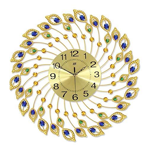 N /A Uhr Wandkunst Wohnzimmer Uhr, Uhren für Wohnzimmer Mantel Retro, Wanduhren für die Küche Moderne 3D Home Wandkunst Dekoration